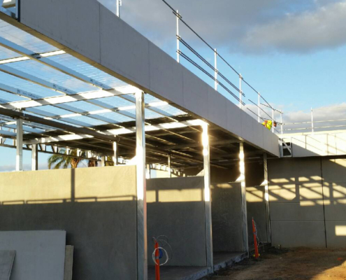 Cladding to Griffith Car Wash